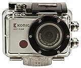 König 1080p Full HD Actioncam wasserdicht Action Kamera + Zubehör Set + Wifi WLAN Funk ! Top Digitalkamera als Helmkamera für Mountainbike Fahrrad oder Snowboard etc. Sport