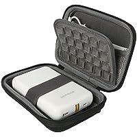Khanka EVA Hart Reise Tragetasche Tasche Für Polaroid ZIP Handydrucker Fotodrucker - Schwarz
