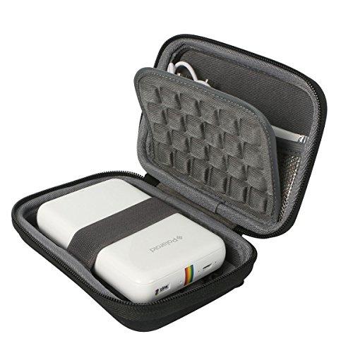 Khanka Portatile Custodia da viaggio Memorizzazione per Polaroid ZIP Stampante Portatile Zero Ink Printing - Nero