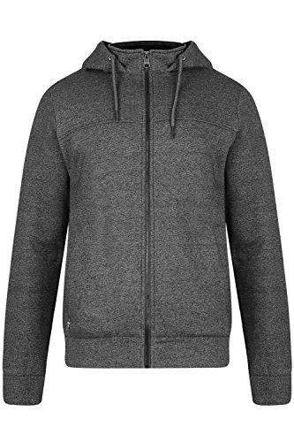 Threadbare -  Felpa con cappuccio  - Felpa - Basic - Uomo FMW046 - Charcoal - Grey