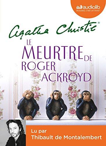 Le Meurtre de Roger Ackroyd: LIVRE AUDIO 1CD MP3