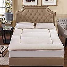 EEvER Colchón cómodo colchón Colchón Plegable Grueso para la Cama, Almohadilla para Dormir portátil de