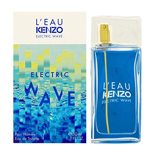 L'Eau par Kenzo Electric Wave Pour Homme Eau de Toilette 50ml Spray (: Pour Kenzo Homme Herren-duft)