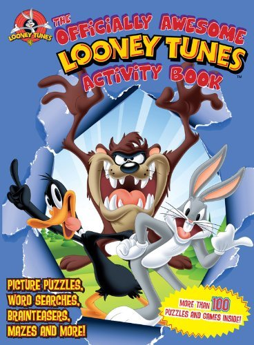 the-officially-awesome-looney-tunes-activity-book-picture-puzzles-word-searches-brainteasers-mazes-a