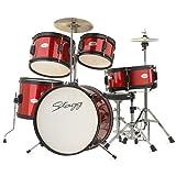 Stagg TIM JR 5/16 RD 5-teilig Junior-Schlagzeug rot