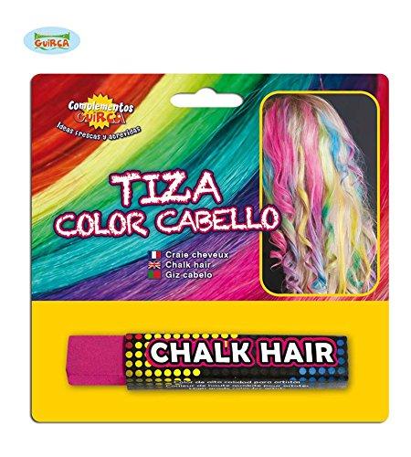 Fiestas Guirca GUI15610 - Blister Pack: Haarfarbe Stick, fuchsia