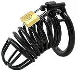 Yocitoy La Cast-idad Cast-idad vibra-dor cintur¨n de 40mm / 1.5pouce tama?os de anillos Negro