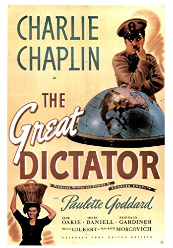 Poster Gießerei die Große Diktator Satirische politischen Comedy Drama Film Film Movie 36x54 inches Poster -