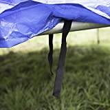 Ultrasport Trampolin Wetterschutzplane Comfort Blau 305 cm - 2
