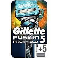 Gillette Fusion ProShield Chill Maquinilla De Afeitar + 5 Recambios