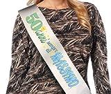 Dream' s Party La FASCIA 50 ANNI sempre al MASSIMO - fascia idea scherzo gadget per la festa di compleanno del neo Cinquantenne