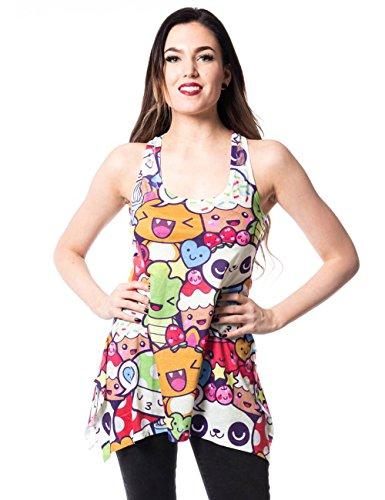 innocent-top-cartoon-lace-panel-vest-mehrfarbig-mehrfarbig-s