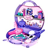 Toyshine Carry Along Beauty Set Toy With Briefcase, 29 Accessories
