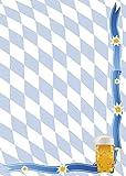 Briefpapier Bayern Raute und Bier DIN A4 90 g/m² (50 Blatt)