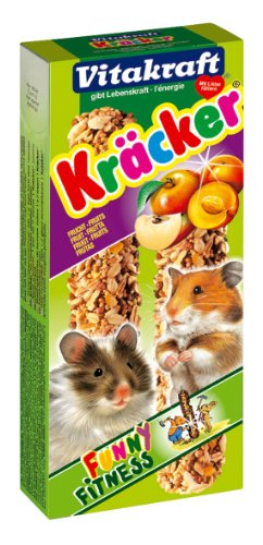 Vitakraft - 25154 - Kräcker Fruits Hamsters P/2