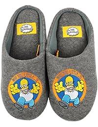 Unisex-Adultos - Official - The Simpsons - Zapatillas