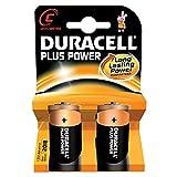 Duracell - Batterie Alkaline Blister Duracell Plus Power C - LR14 - Blister de 2-1.5V 9.36Ah - Blister(s) x 2