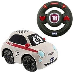 Chicco Fiat 500 Sport Coche teledirigido,, 36.6 x 21.3 x 16.5 7275000000