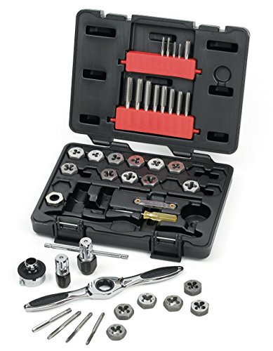 GearWrench 3886 Tap and Die 40 Piece Set Metric by GearWrench -