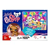 Littlest Pet Shop - PUZZLE 100 Teile (25,4 x 33 cm) & Exclusive Katze mit Streifen - OVP