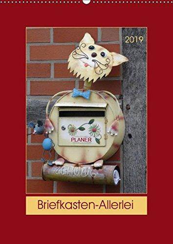 Briefkasten-Allerlei (Wandkalender 2019 DIN A2 hoch): Briefkästen als Kalender-Stars ... (Planer, 14 Seiten ) (CALVENDO Orte)
