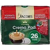 Jacobs Krönung Crema Klassisch, Vorratspackung 26 Pads, 5er Pack (5 x 171g)