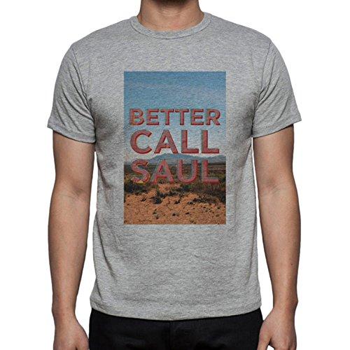 Better Call Saul Poster Nature View Herren T-Shirt Grau
