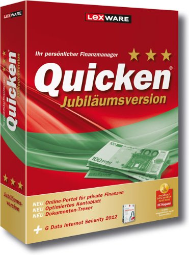 Quicken 2012 Jubiläumsversion (Version 20.00) - Geld Real