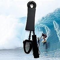 Wuudi Tabla de Surf para Tabla de pies, Correa, 7 mm, Protección de pies, Correa de pie, para Tabla de Surf