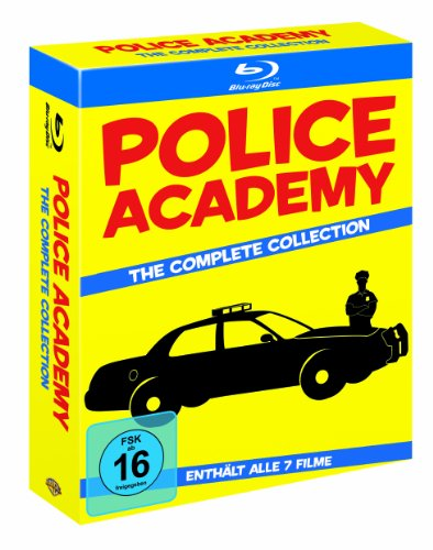 Police Academy Collection (7 Discs) [Blu-ray] -