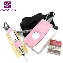 kads Electric Nail Art Drill File Manicure Pedicure Machine 25,000rpm Rosa Machine Complete Professional dedos & Toe Nail Care Kit...