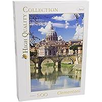 Clementoni - Puzzle de 500 piezas,, diseño Roma (303441)