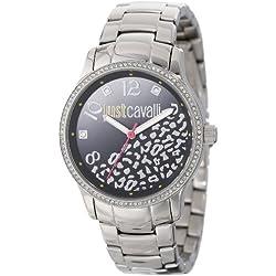 Just Cavalli Damen-Armbanduhr Analog Quarz Edelstahl R7253127511