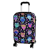 Madison Owl Cabin Suitcase for Children and Adults