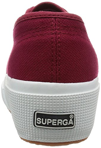 Superga 2950 Cotu, Mocassins Adulte Mixte RED DK SCARLET