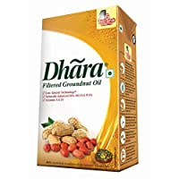 Dhara Filtered Groundnut Oil, 1 Litre