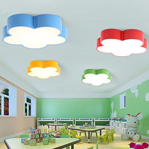 gqlb-camera-da-letto-per-bambini-luci-28w-ragazze-maschio-flower-pattern-soffitto-led-luce-luci-kind