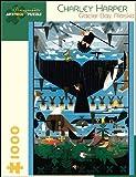 Charley Harper Glacier Bay Alaska 1 000-Piece Jigsaw Puzzle Aa639 (Pomegranate Artpiece Puzzle)
