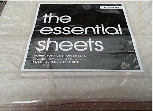 basic-essentials-300tc-percale-dot-full-sheet-set-tan-by-bloomingdales