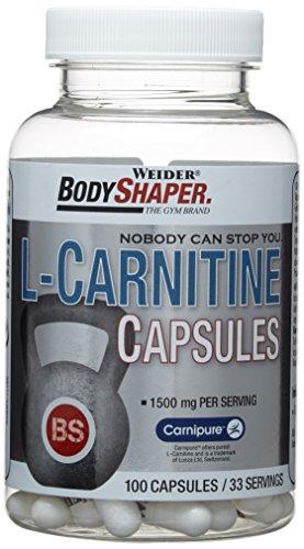 #Weider L-Carnitine Capsules, Neutral, 88 g#