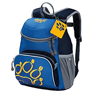 Jack Wolfskin Unisex - Kinder Rucksack Little Joe, night blue, 31 x 26 x 23 cm, 11 liters, 26221