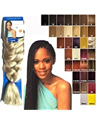 "IMPRESSION SUPER BRAID HAIR EXTENSIONS Kunsthaar 86"" (WEIGHT 175gm) (22)"