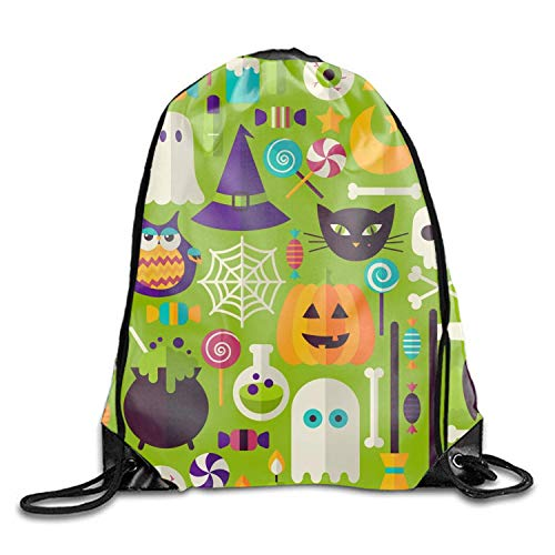 Michael Staton Kordelzug Rucksack Taschen Halloween Urlaub Muster Werbeartikel Sport Gym Sack Einstellbare Gürteltasche