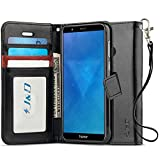 J&D Case Compatible for Huawei Honor 7X Case, [Wallet
