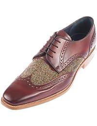 Barker - Zapatos de cordones de Piel para hombre blank, color, talla 44