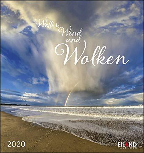 Wetter, Wind und Wolken 2020 16x17cm -