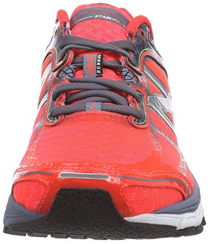 New Balance NBM860BG5 Sneaker, Uomo BG5 ORANGE/GREY