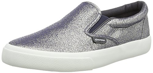 Superga 2311 LAMEW Damen Sneaker Grau