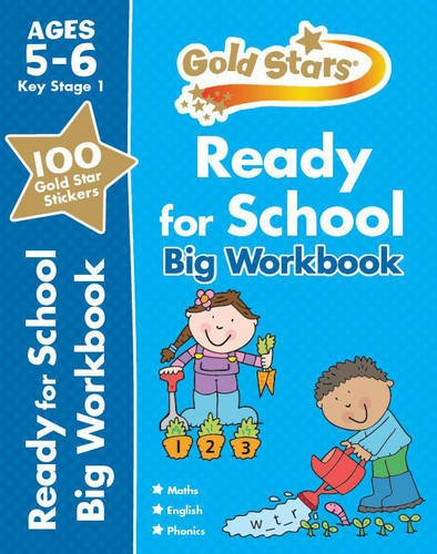 Ready for School Big Workbook Ages 5-6 (Gold Stars Ks1 Bumpers)