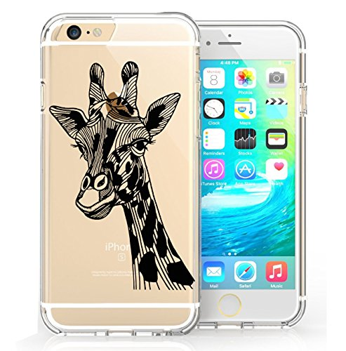 iPhone 6 6s Coque, FoneExpert® Très mince Etui Housse Coque Transparent TPU Gel Cover Case pour iPhone 6 6s (Color 5) Color 7